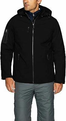 IZOD Men's 3-in-1 Soft-Shell Systems Jacket - Choose SZ+Colo