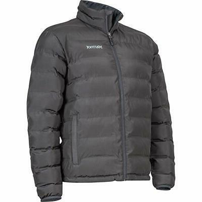 men s alassian featherless jacket slate grey