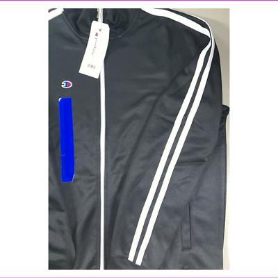 Champion Fleece Longsleeve Logo Zipper Jacket