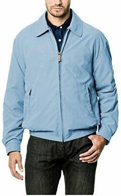 London Fog Men's Auburn Zip-Front Golf Jacket Regular & Big-