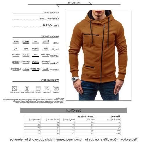 Men's Winter Hooded Sweatshirt Outwear Jumper