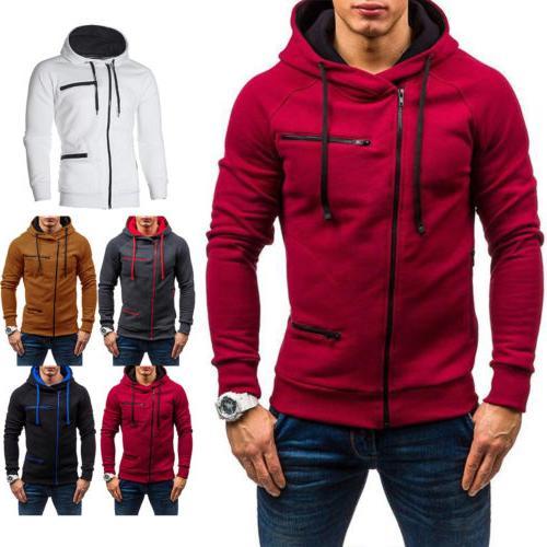 Men's Warm Hooded Sweatshirt