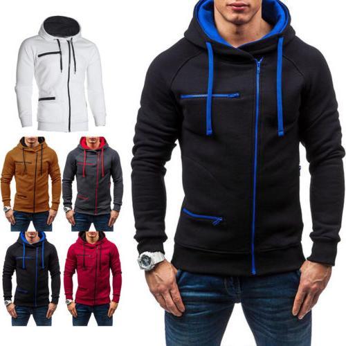 Men's Warm Hoodie Hooded Outwear Jumper Sweater