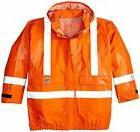 Carhartt Men's Big & Tall Flame Resistant Rain Jacket XXX-La