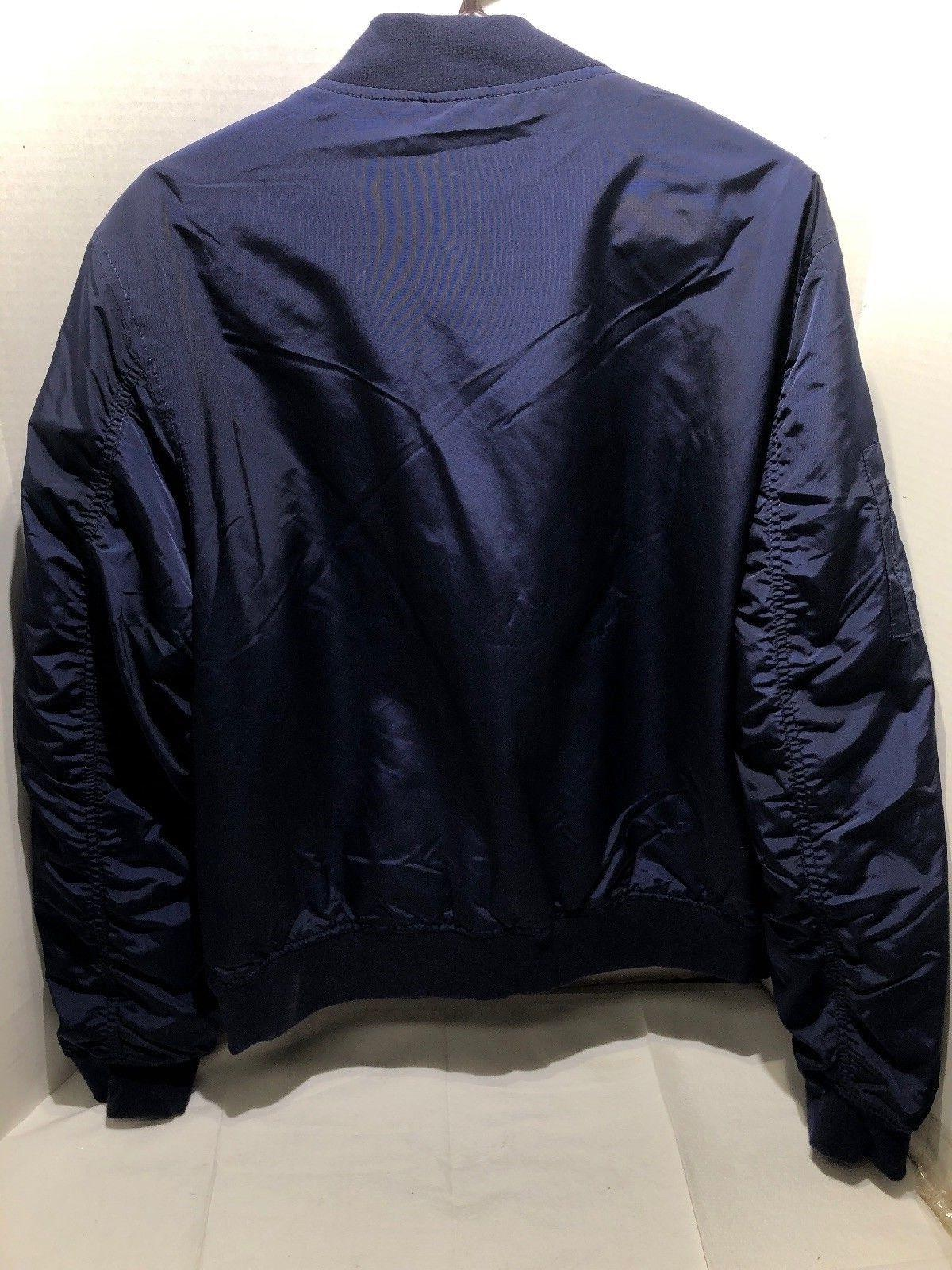 Goodthreads Men's Bomber Jacket Navy