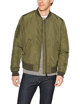 men s bomber jacket olive x large