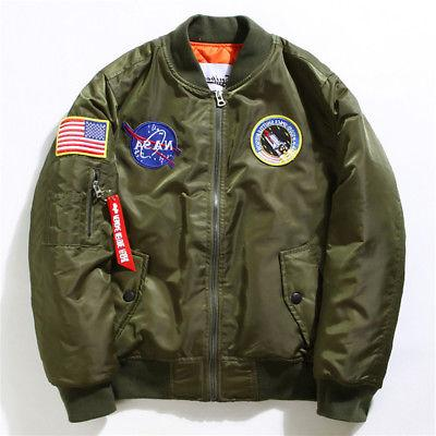 Men's NASA MA1 Coat Casual