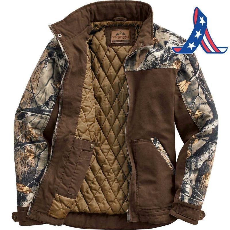Legendary Whitetails Cross Game Camo Workwear Jacket