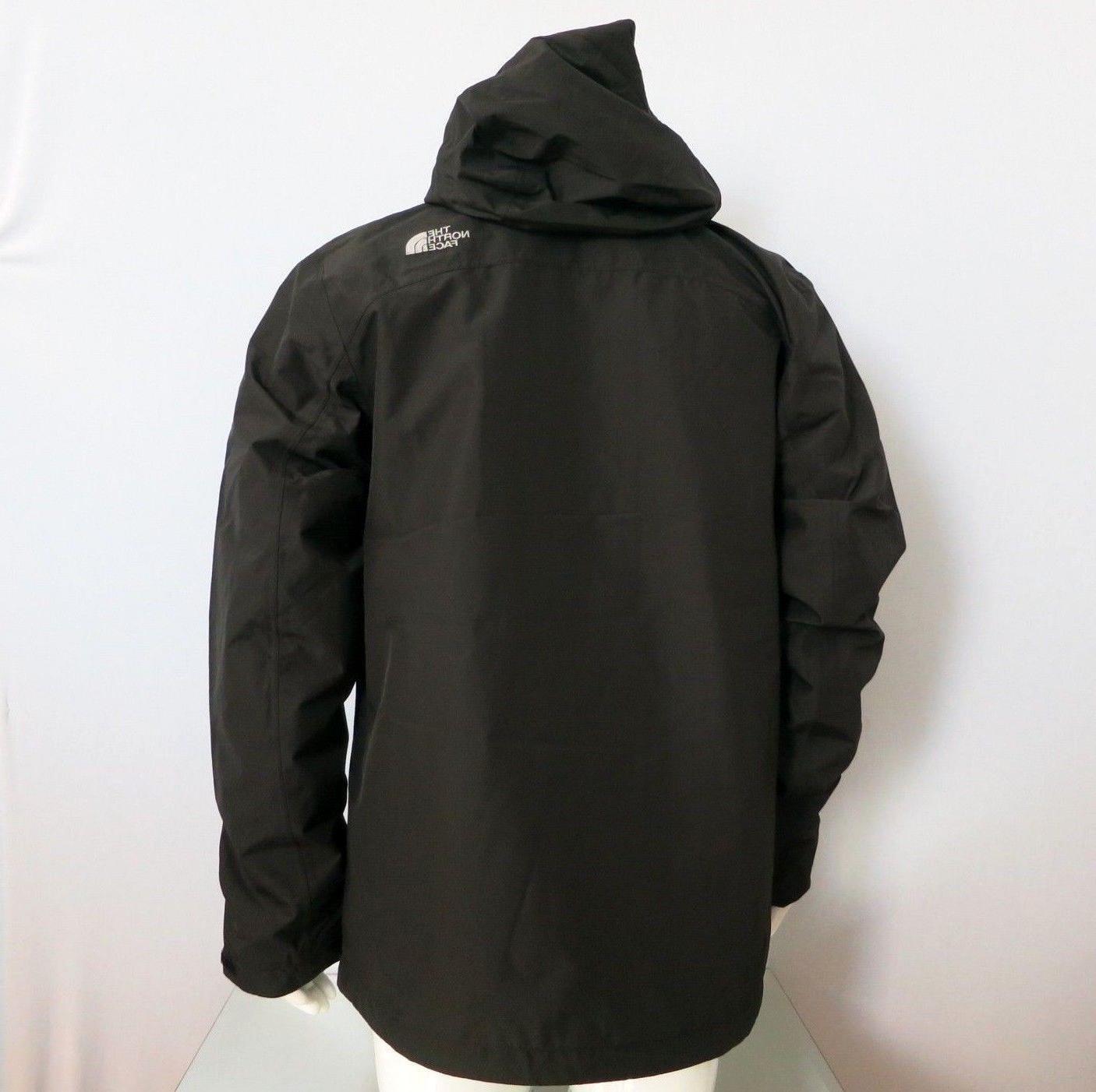 THE NORTH Cinder Jacket Black M L