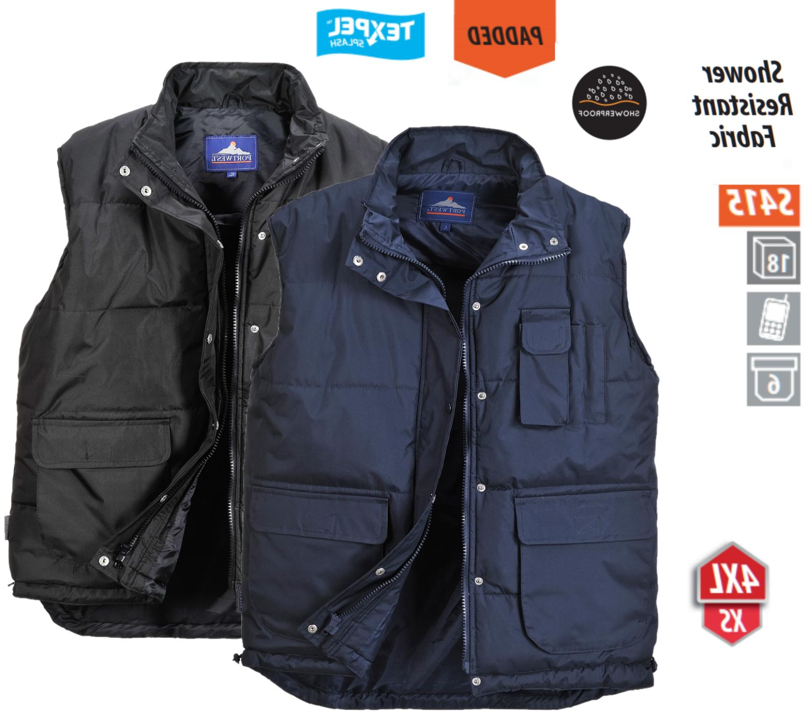 men s classic padded thermal body warmer