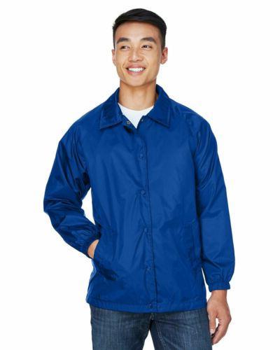 Men's Coaches Jacket Breaker Front Colors