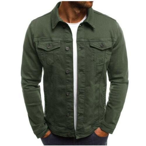Men's Jacket Jean Cargo Single