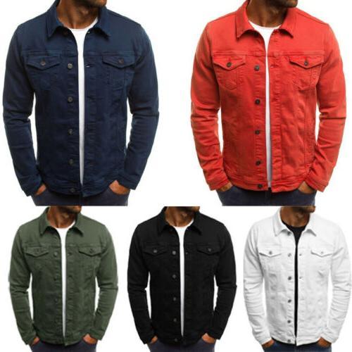 men s coat denim jacket jean cargo