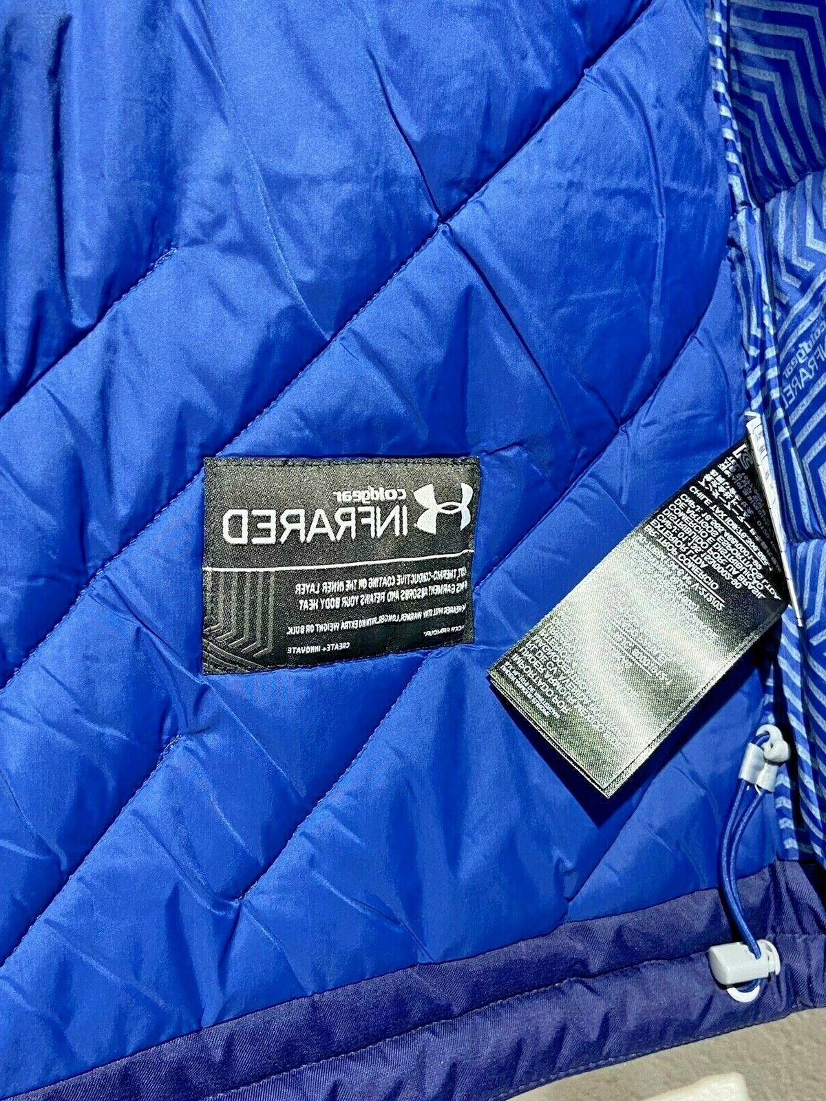 Under Men's Gear Voltage Jacket Size L 1280828-410