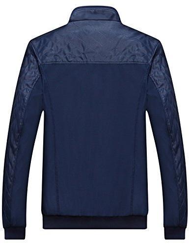 Tanming Color Block Slim Casual Jacket
