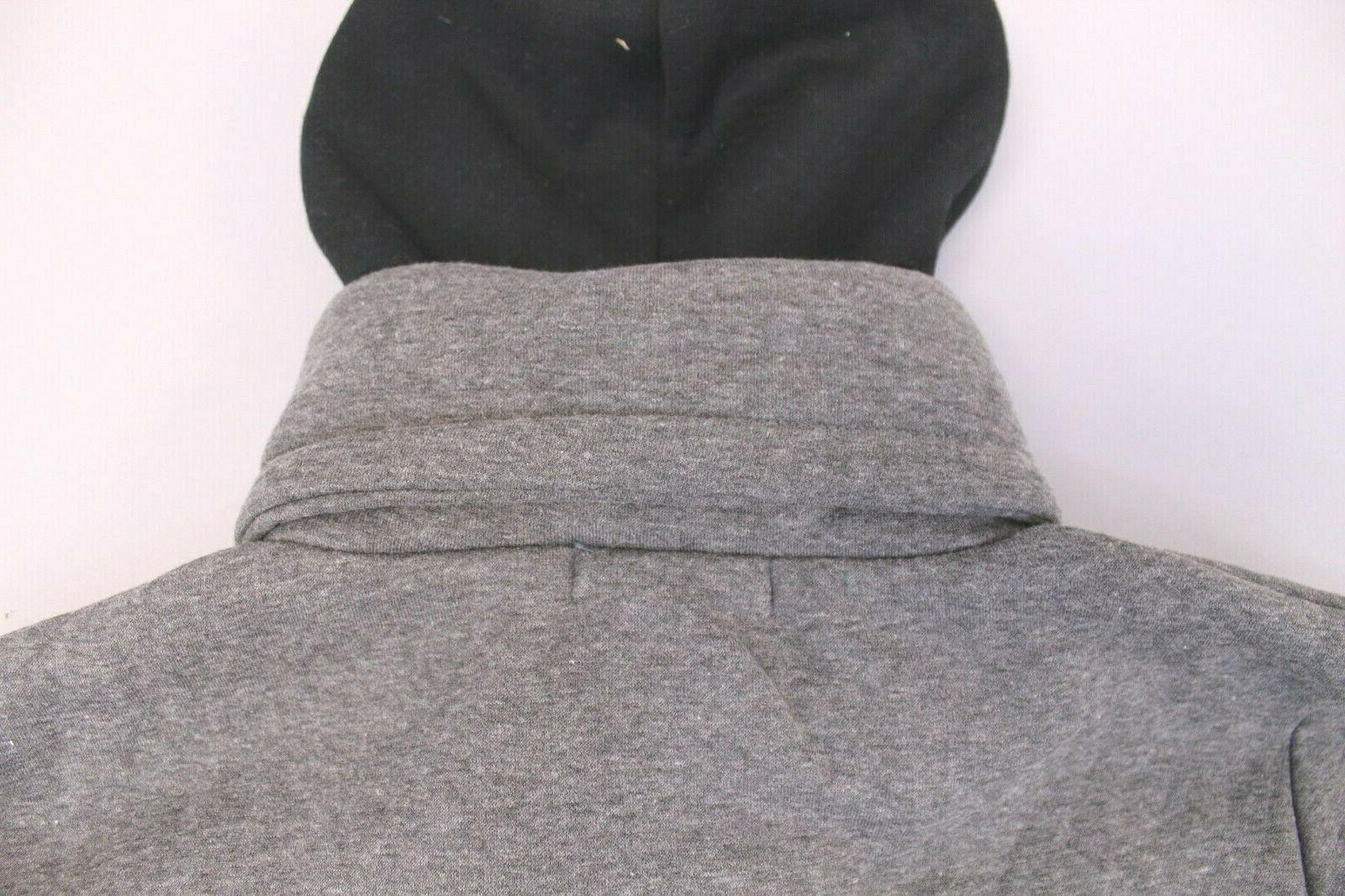 LocalMode Men's Double Zipper Hoodie TW4 Size NWT