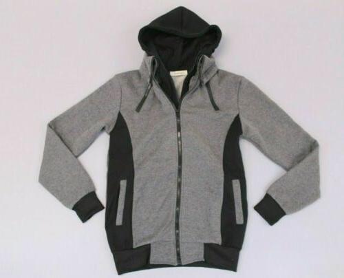 men s double zipper hoodie jacket tw4