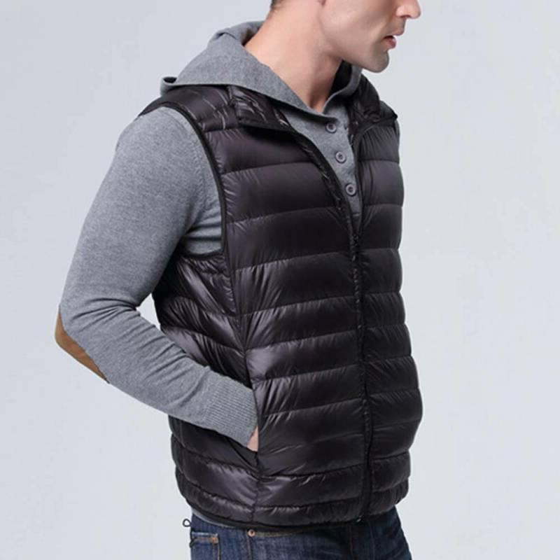 Men's Down Jacket Sleeveless Packable Warm