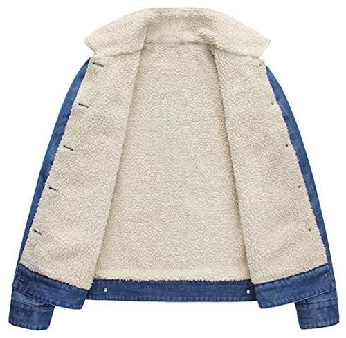 chouyatou Heavyweight Sherpa-Lined Washed Jacket