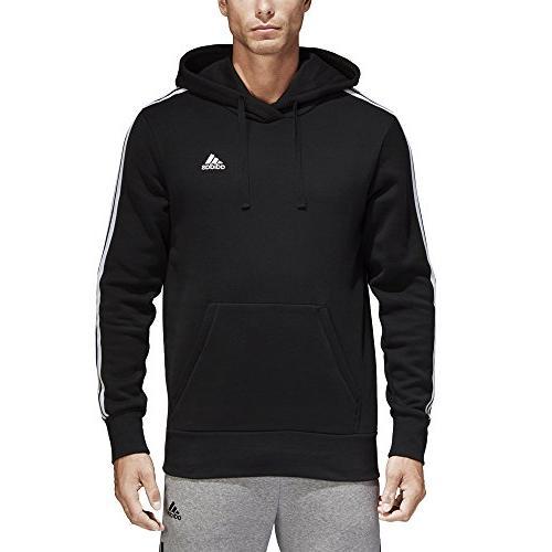 men s essentials 3 stripe pullover hoodie