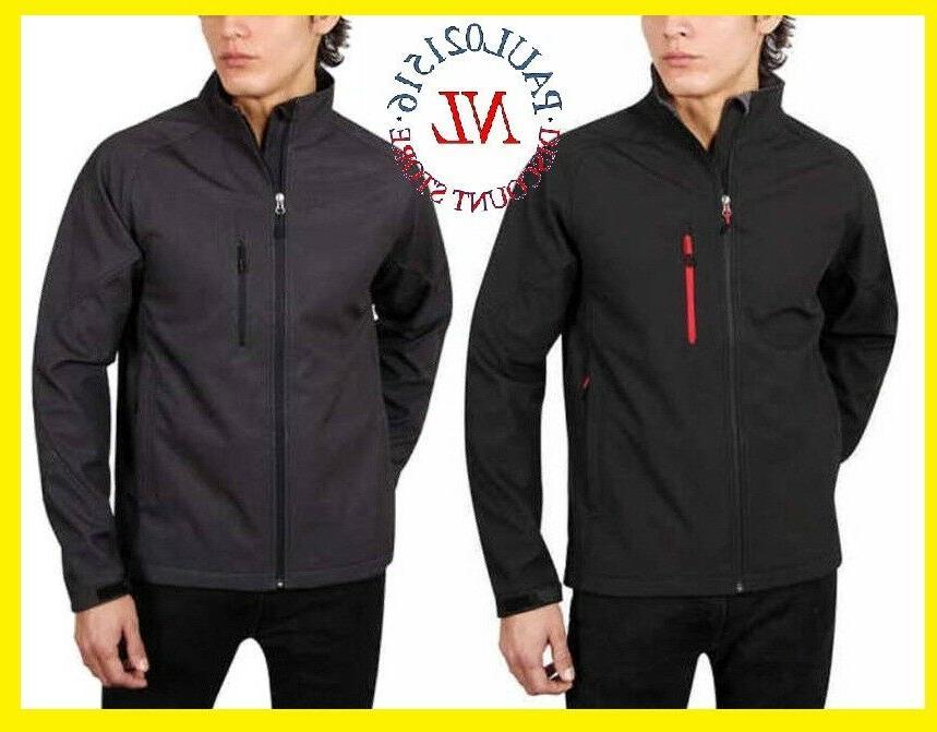 men s full zip soft shell jacket