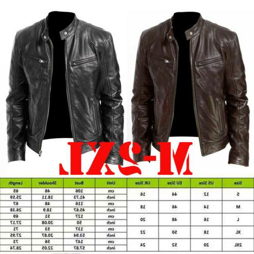 Men's Genuine Jacket & BROWN Slim Coat