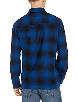 Goodthreads Shirt Blue Plaid, X-Large