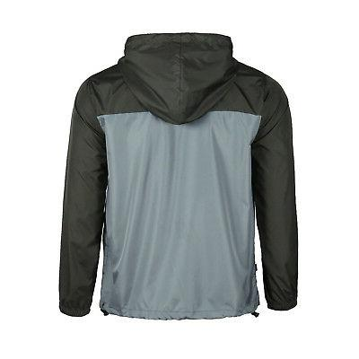Men Hooded Water Lightweight Zipper Sports