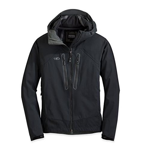 men s iceline jacket black large