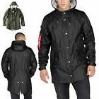 Alpha Industries Men's Jacket Fishtail Raincoat Rain Jacket