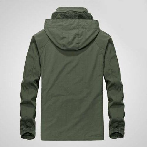 Men's Jacket Waterproof Outdoor Rain