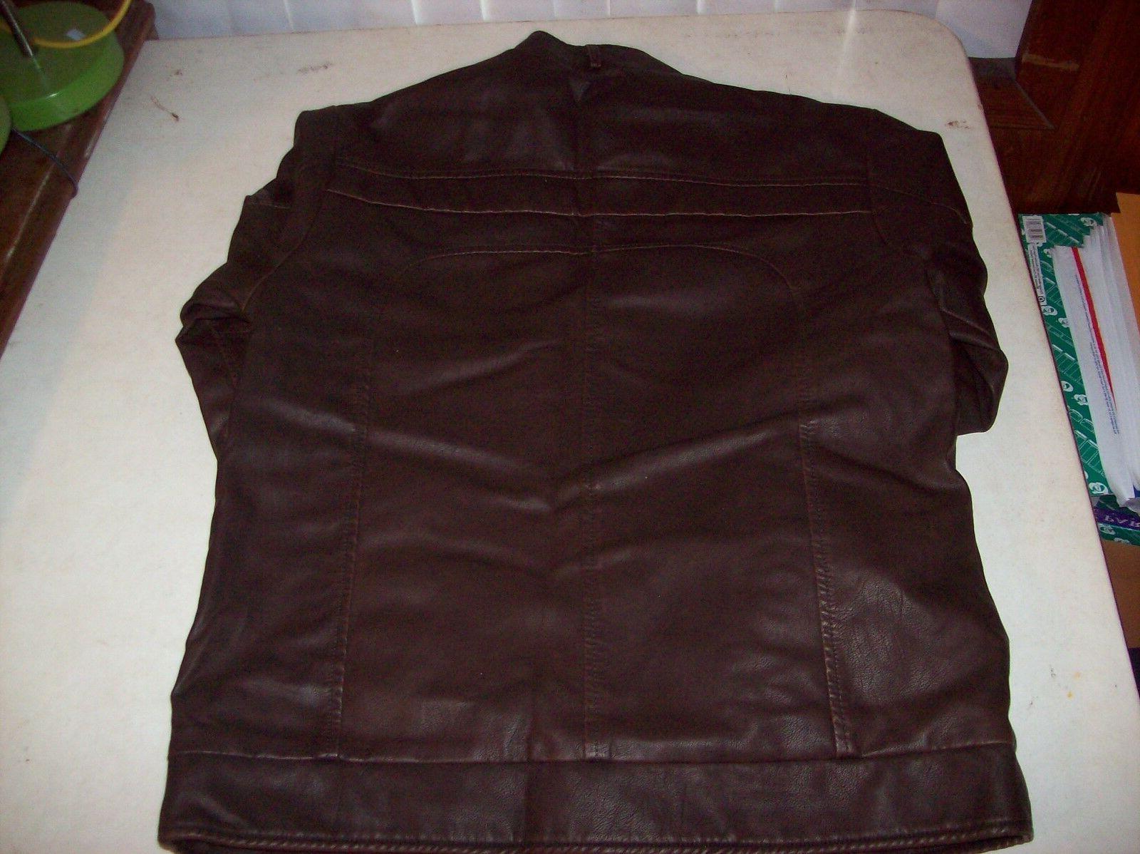 Chouyatou Pleather Motorcycle Jacket