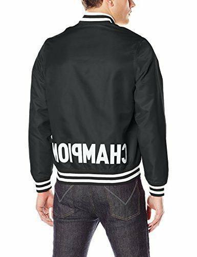 men s life satin jacket black supreme