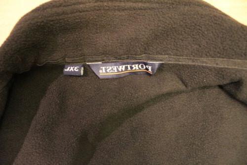 Portwest Men's Embroidered L/S Softshell Black