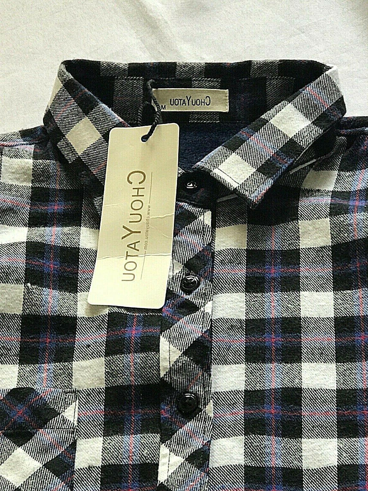 CHOUYATOU Long Sleeve Fleece Buttoned Overshirt/Jacket