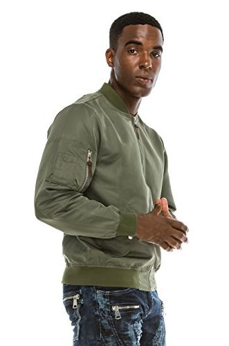 Angel Cola Men's Windbreaker Jacket N1900 Green