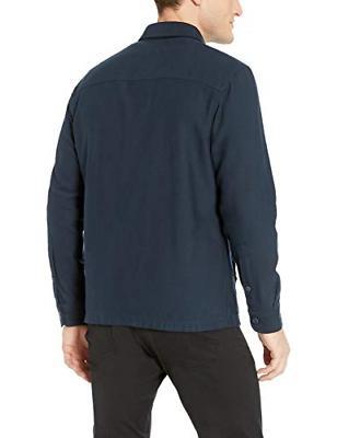 Goodthreads Twill Shirt Jacket, -navy, Medium