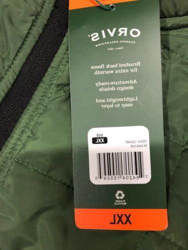Orvis Jacket Sage Size XXL