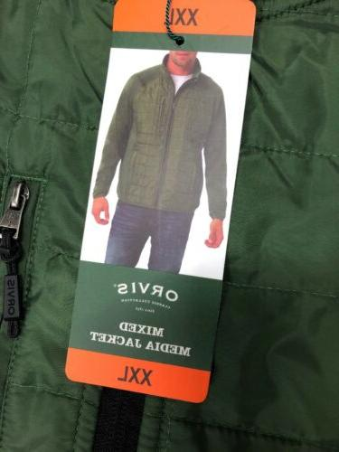 Orvis Mixed Media Size XXL NWT