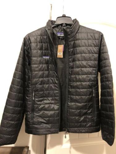 men s nano puff jacket black nwt