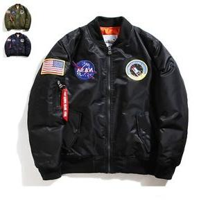 Men's Pilot MA1 Air Force Coat Outwear