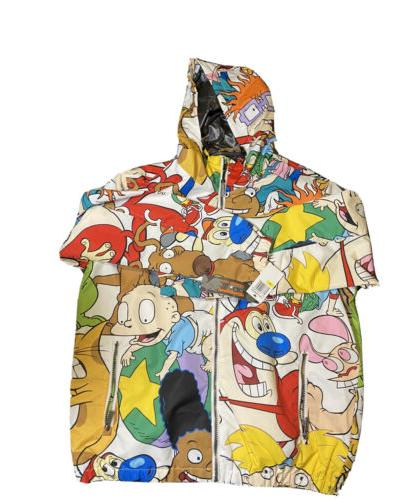 Men's Nickelodeon x Members Only Jacket Cartoon