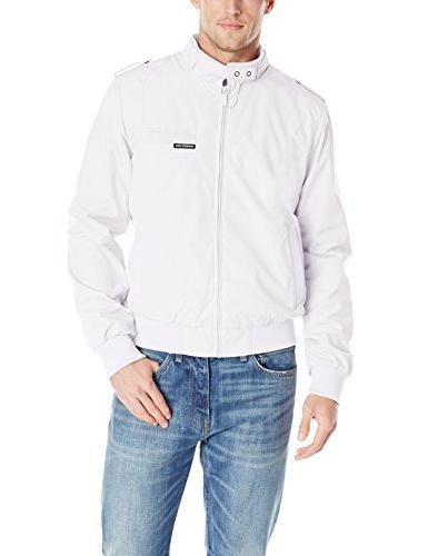 men s original iconic racer jacket white