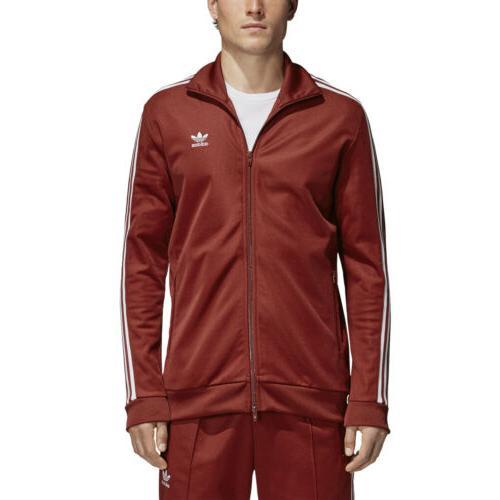 men s originals bb track jacket rust