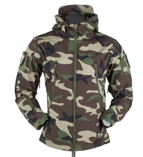 Men's Tactical Winter Shell Military Jackets