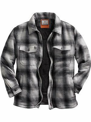 men s outdoorsman buffalo jacket