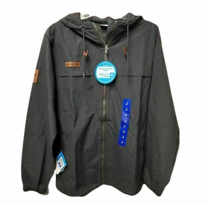 men s peak wheeler lodge windbreaker jacket