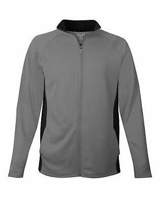 men s performance fleece full zip jacket