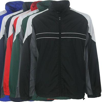 men s performer water resistant wind jacket