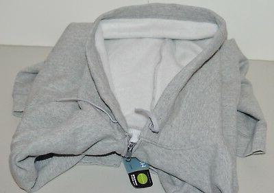 Men's Grey Heather Zip Jacket